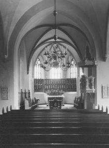 St. Matthäi, Blick nach Osten, 1957, Foto: Ernst Witt, Hannover, 1957