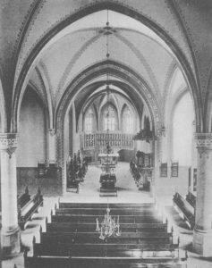 St. Matthäi, Blick nach Osten, nach 1884, vor 1955