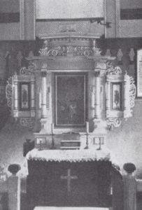 Altaraufsatz, 1935