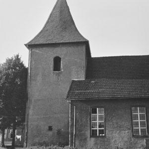 Kirche, Ansicht von Süden, Teilansicht, 1962