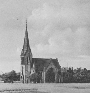 Kirche, Ansicht von Südwesten, um 1948