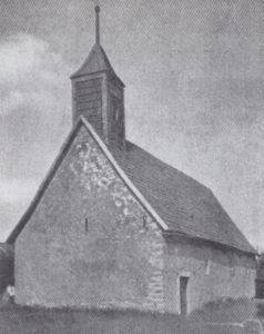 Kapelle, Ansicht von Südwesten, 1935