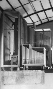 Orgel im Bau, 1959/60