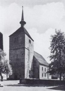 Kirche, Ansicht von Südwesten, 1937