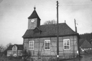Alte Kirche, Ansicht von Südosten, um 1960