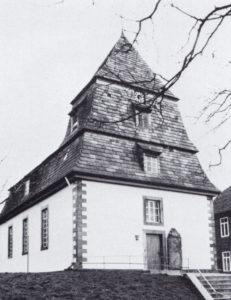 Kirche, Ansicht von Nordwesten, 1974