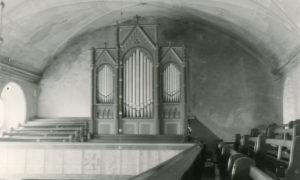 Kirche, Blick zur Orgel, vor 1959