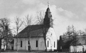 Kirche, Ansicht von Nordwesten, 1967