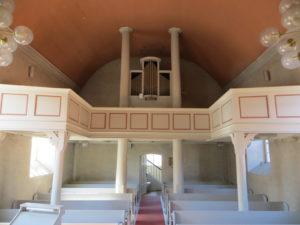 Kirche Wirringen, Orgel
