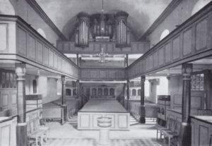 Kirche, Blick zur Orgel, 1936