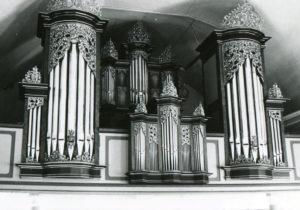 Orgel, nach 1972 bzw. nach 1978