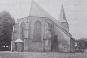 Kirche, Ansicht von Nordosten, vor 1915