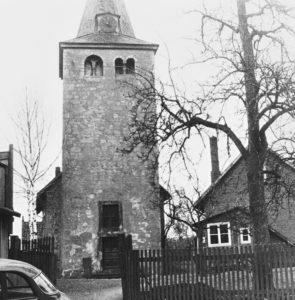 Kirche, Ansicht von Westen, 1961