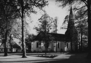 Kirche, Ansicht von Nordosten, 1980