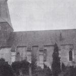 Kirche, Ansicht von Südosten, vor 1915