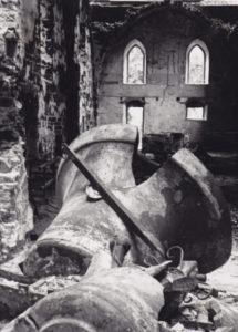 Kirche, Blick nach Osten, um 1945/46