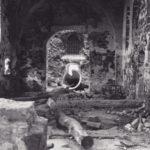 Kirche, Blick zur Orgel, um 1945/46