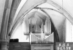 Orgel, nach 1952 (1952 Orgelneubau)