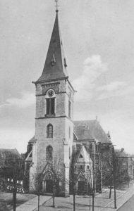 Kirche, Ansicht von Südwesten, 1927
