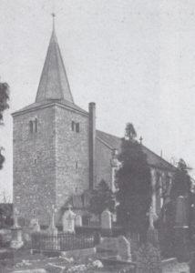 Kirche, Ansicht von Südwesten, 1935
