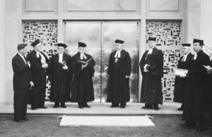 Einweihung der Kirche, 1958
