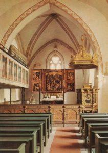Kirche, Blick zum Altar, nach 1965