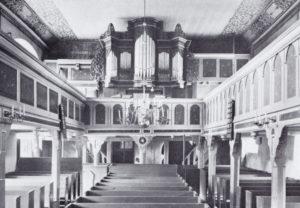 Kirche, Blick zur Orgel, 1937