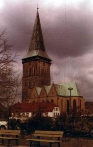 Kirche Ansicht von Südosten, 1980