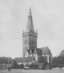 Kirche Ansicht von Südosten, um 1920