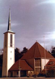 Kirche, Außenansicht, 1980