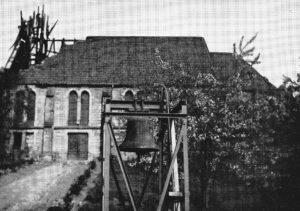 Kirche, Ansicht von Osten, nach März 1963, vor Februar 1964