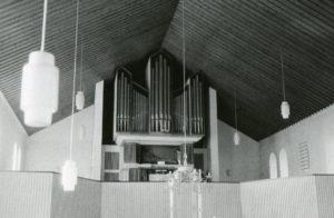 Kirche, Blick zur Orgel, nach 1965