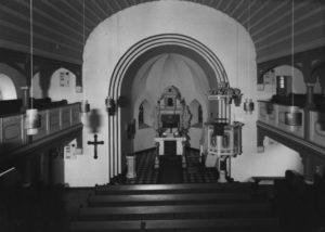 Neue Kapelle, Blick zum Altar, 1980