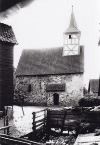 Alte Kapelle, Ansicht von Norden, vor 1902