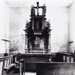 Alte Kapelle, Blick zum Altar, vor 1902