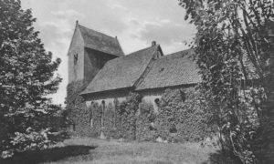 Kirche, Ansicht von Südosten, um 1954