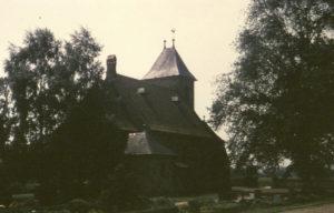 Kapelle Rieste, Ansicht von Nordosten, 1980