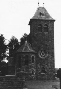 Kapelle, Ansicht von Westen, 1983