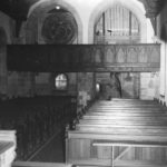 Kapelle, Blick zur Orgel, vor 1965