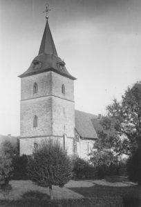 Kirche, Ansicht von Südwesten, vor 06.10.1942