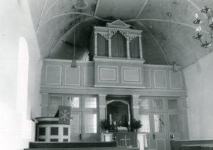Kapelle, Blick zum Altar, nach 1958