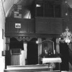 Kapelle, Blick zum Altar, vor 1958