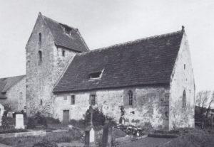 Kapelle, Ansicht von Südosten, 1937