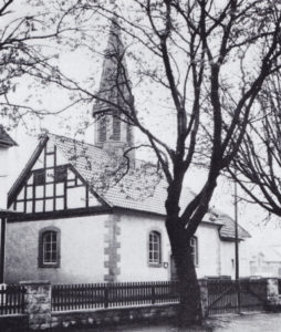 Kapelle, Ansicht von Südwesten, 1973