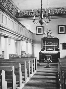 Kirche, Blick zum Altar, 1937