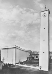 Kirche, Ansicht von Nordosten