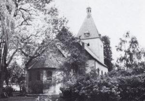 Kirche, Ansicht von Nordosten, 1973