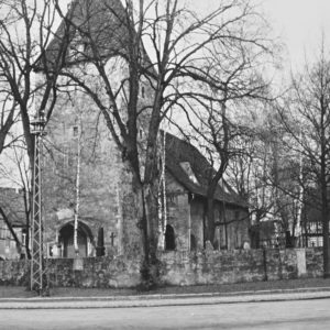 Kirche, Ansicht von Südwesten, 1962