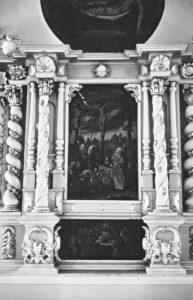 Altaraufsatz, Ausschnitt, 1947