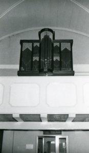Orgel, nach 1975, Orgelprospekt: Zustand 1975